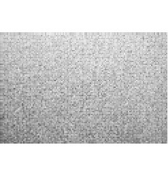 halftone effect monochrome dotted background vector image
