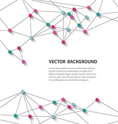 polygonal background12 vector image vector image