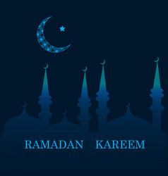 Ramadan greetings background vector