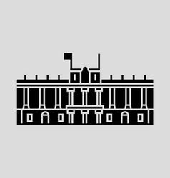 Royal Palace Of Madrid vector image