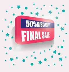 Sale banner background banner vector