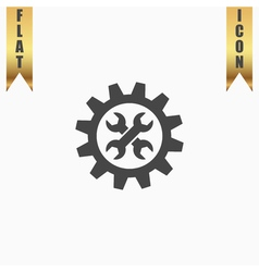 Service flat icon vector image