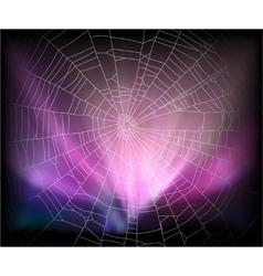 Spider background vector