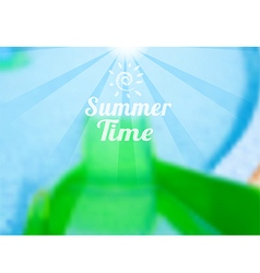 summer issue vector image