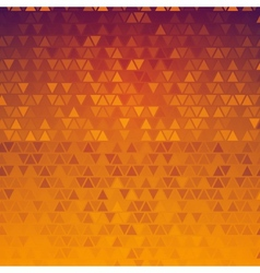 Gradient abstract triangles background vector image vector image