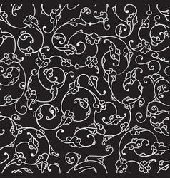rumi iznik seamless pattern vector image vector image