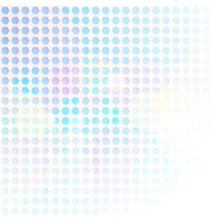 Blue Hexagon Abstract Background vector image