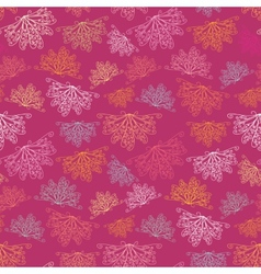 Pink abstract pattern vector image vector image