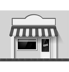 Shop window Stock vector image