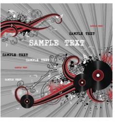 vector grunge background vector image