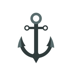 anchor sea lifestyle nautical icon graphic vector image
