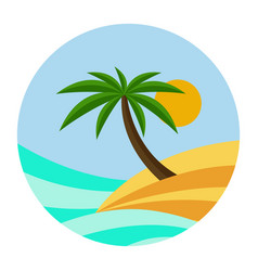 Beach theme of the wave vector