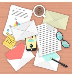 Concept analysis correspondence on table vector