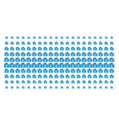 Euro checkbook shape halftone grid vector