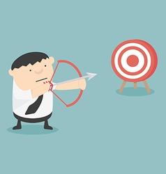 Get target cartoon vector