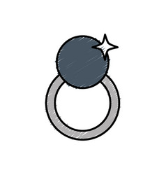 Ring icon image vector
