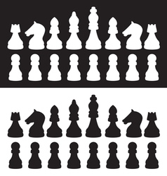 Chess1 vector image vector image