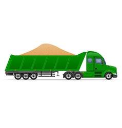 semi truck trailer concept 11 vector image