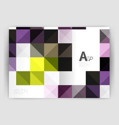 square minimalistic abstract background vector image vector image