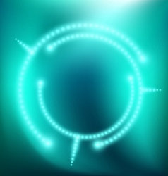 abstract background with glow vector image