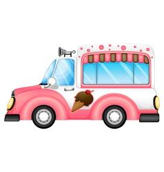 An ice cream car vector image