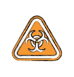 Biohazard advert sign vector