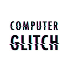 computer glitch background vector image