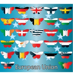 European Union small vector image