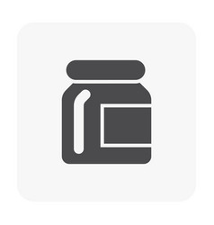 garnish bottle icon vector image