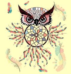 Hand drawn ornate spiritual symbols totemic and vector