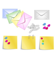 stationery products vector image
