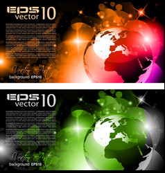 universe background vector image