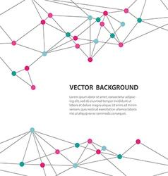 polygonal background13 vector image vector image