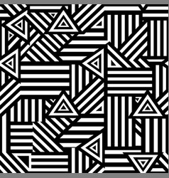 stylish graphic seamless background vector image vector image
