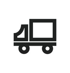 Delivery Truck Symbol vector image vector image