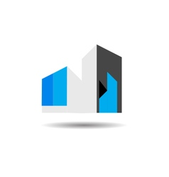 Building management logo vector