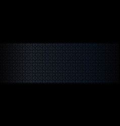 Dark black background abstract geometric pattern vector