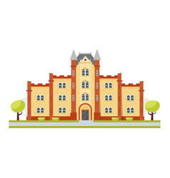 educational building university vector image