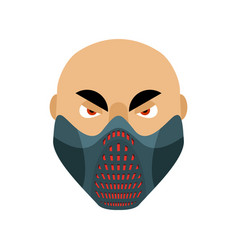Elevation training mask fitness sports accessory vector