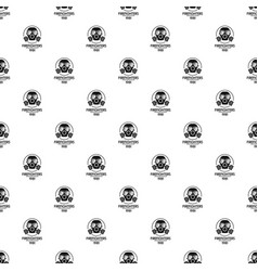 firefighters pattern seamless vector image
