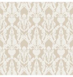 Vintage Rococo ornament pattern vector image