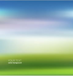 Natural abstract background vector image vector image