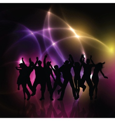 party people background 0410 vector image