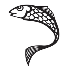 Fish66 resize vector image vector image