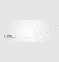 abstract molecule connect background vector image