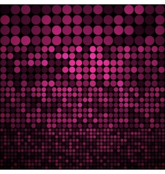 Abstract purple circles seamless pattern vector image