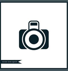 camera photo icon simple vector image