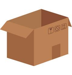carton box icon vector image