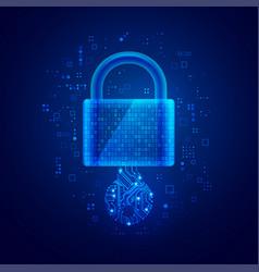 cyberlock vector image
