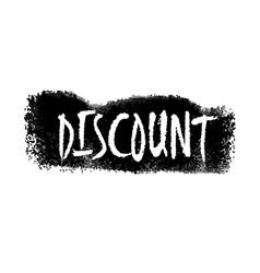 Discount hand written label vector